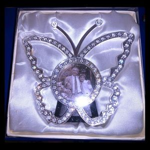 Crystal Butterfly Frame